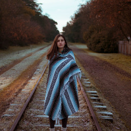 freetoedit girl human nature scarf