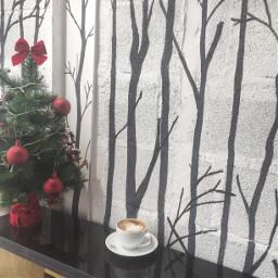 christmasmood wintermorning thecoffeehouse coffeelovers photooftheday freetoedit