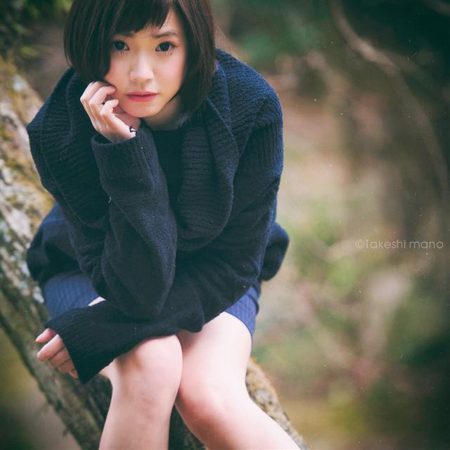 #portrait #people #photography #woman #girl #winter #japan