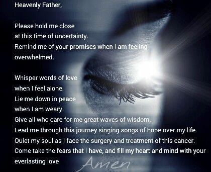heavenlyfather cancer prayer illness healing Mommyof4q