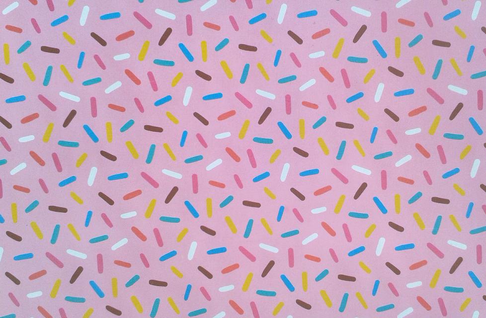 #FreeToEdit #pattern  #pink #sprinkles  #colorful  #flyingtiger