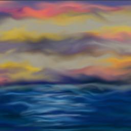 sunset digitalart digitalpainting robinw original