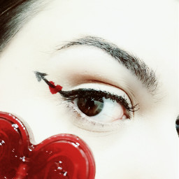 valentineday stvalentin coeur makeup heart