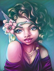 freetoedit girl moonlightefect cutegirl flowerheadband