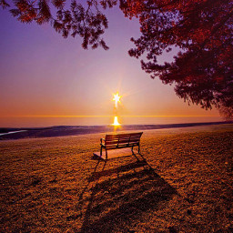 sunrise sunset shoreline beautiful beauty