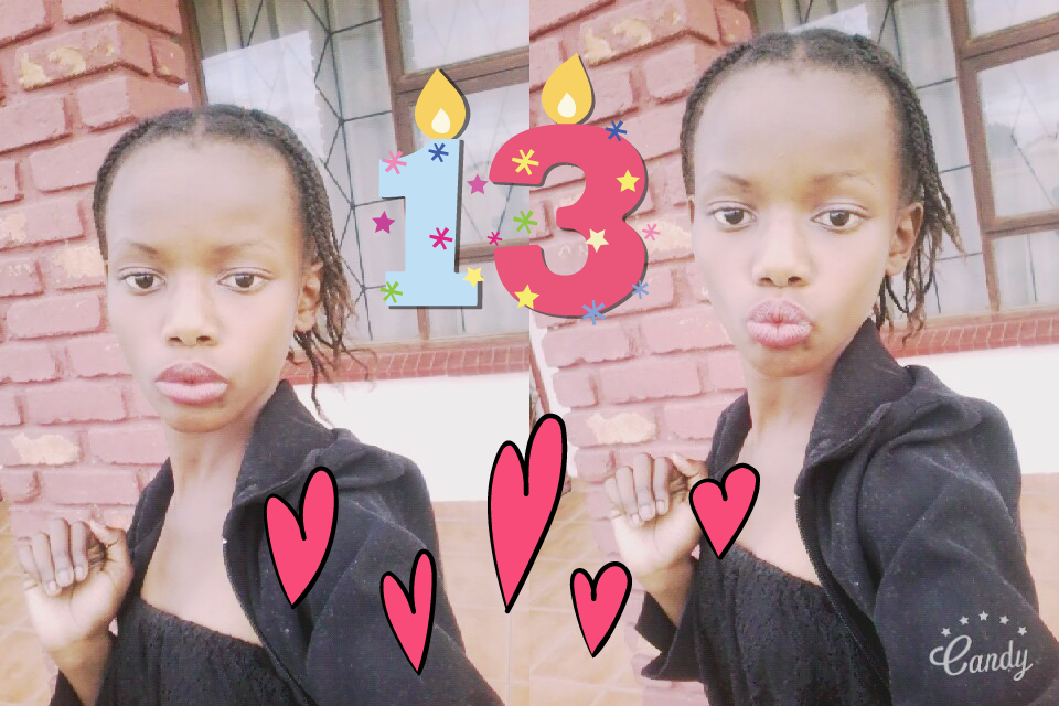 13 years old is great😇👧👩💅