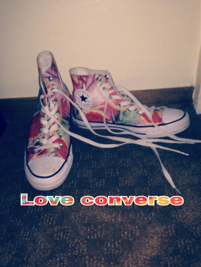 #conversehightops #shoesoftheday