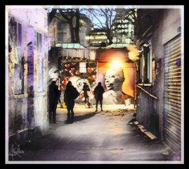 retro downtown graffiti magic picsart