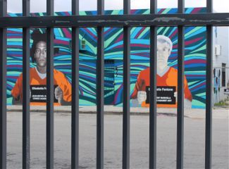 andywarhol miami travel mural wall