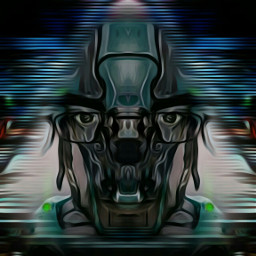ghostintheshell cyborg fantasy futuristic robot
