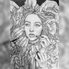 draw drawing drawings art artists freetoedit